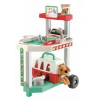 Ecoiffier Állatorvosi szállítókocsi kutyával
