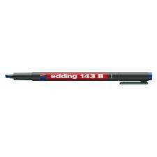 EDDING 143b ohp alkoholos marker kék filctoll, marker
