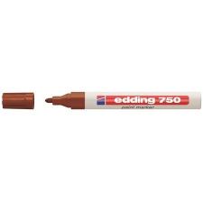 """EDDING """"750"""" 2-4 mm barna lakkmarker filctoll, marker"""