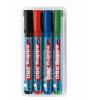 """EDDING Flipchart marker készlet, 1,5-3 mm, kúpos, EDDING """"380"""", 4 különböző szín"""