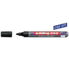 """EDDING Tábla- és flipchart marker, 1-3 mm, kúpos, EDDING """"250"""", fekete filctoll, marker"""
