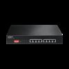 Edimax 8x 10/100 PoE+ Switch, 802.3at/af, 130W budget (30W/port), DIP Switch