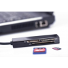 Ednet Multi Card Reader 4-port USB 2.0 SuperSpeed, Czytnik kart 4-portowy USB 3.