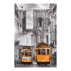 Educa Alfama negyed, Lisszabon mini puzzle, 1000 darabos