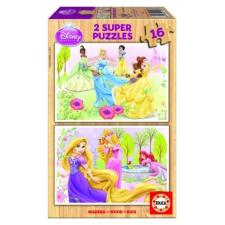 Educa Disney Hercegnők fa puzzle, 2x16 darabos puzzle, kirakós