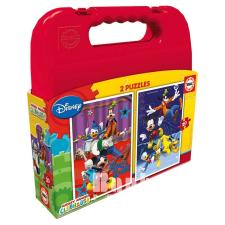 Educa Disney Mickey Mouse Clubhouse puzzle táskában, 2x20 darabos puzzle, kirakós