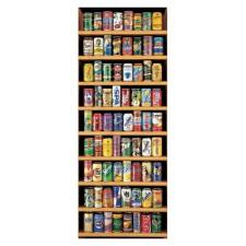 Educa Üdítős dobozok panoráma puzzle, 2000 darabos puzzle, kirakós