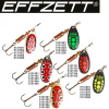 EFFZETT STANDARD SPINNER BLACK YELLOW / 10G