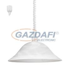 EGLO 3355 Húzós függ. E27 60W fehér Alessandra világítás