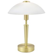 EGLO 87254 SOLO 1 beltéri asztali lámpa, matt sárgaréz színben, MAX 1X60W teljesítménnyel, E14 foglalattal, dimmelős érintőkapcsolóval, IP20 védettséggel ( EGLO 87254 ) világítás