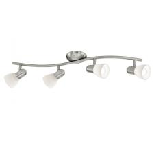 EGLO 88474 DAKAR 1 spot lámpa ( beltéri ), matt nikkel színben, MAX 4X40W teljesítménnyel, E14 foglalattal, kapcsoló nélkül, IP20 védettséggel ( EGLO 88474 ) világítás