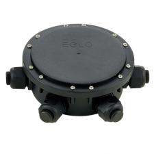 EGLO 91207 CONNECTOR BOX kültéri 6 bemenetes elosztó fekete, fekete színben,, kapcsoló nélkül, IP68 védettséggel ( EGLO 91207 ) kültéri világítás