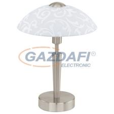EGLO 91238 Asztali E14 1x60W m.nikkel/dekor Solo világítás