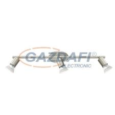 EGLO 92597 LED-es fali/ mennyezeti GU10 3x3W Buzz LED világítás