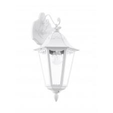 EGLO 93445 NAVEDO kültéri fali lámpa, fehér színben, MAX 1X60W teljesítménnyel, E27-es foglalattal, kapcsoló nélkül, IP44 védettséggel ( EGLO 93445 ) kültéri világítás