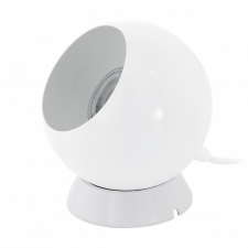 EGLO 94513 PETTO 1 LED fali asztali lámpa, fehér színben, MAX 1X3,3W teljesítménnyel, GU10 foglalattal, zsinórkapcsolóval, IP20 védettséggel ( EGLO 94513 ) világítás