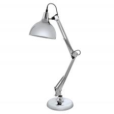 EGLO 94702 BORGILLIO íróasztali lámpa, króm színben, MAX 1X40W teljesítménnyel, E27-es foglalattal, zsinórkapcsolóval, IP20 védettséggel ( EGLO 94702 ) világítás