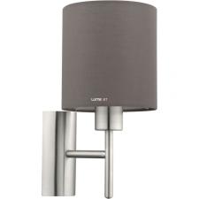 EGLO 94927 Fali E27 60W antracit barna/matt nikkel Pasteri világítás