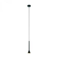 EGLO 97604 CORTADERAS LED függeszték, fekete, arany színben, MAX 1X5W teljesítménnyel, GU10 foglalattal, kapcsoló nélkül, IP20 védettséggel, 3 lépésben szabályozható ( EGLO 97604 ) világítás