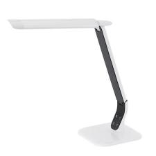 """EGLO Asztali lámpa, LED 6 W, """"Sellano"""", fehér-fekete elemlámpa"""