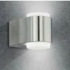 EGLO Briones LED-es kültéri fali 2x3W 500lm nemes acél