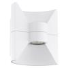 EGLO Kültéri LED fali 2x2,5W 360lm 16*17,5*12,5cm alumínium öntvény fehér IP44 Redondo