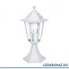 EGLO Laterna 5 - 22466 - kültéri állólámpa, alumínium öntvény, fehér, E27 foglalat, IP44, 405 mm magas