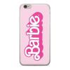 egyéb Barbie szilikon tok - Barbie 014 Apple iPhone 6 / 6S (4.7) pink (MTPCBARBIE4602)