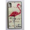 egyéb BH700 Telefon tok BLU-RAY Üveg Bird White Samsung S8