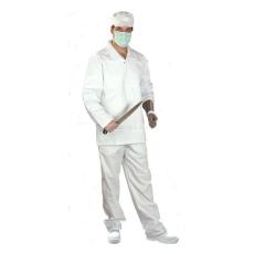 EGYEB egyeb Munkavédelmi fehér élelmiszeripari zubbony 50
