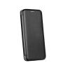 egyéb Forcell Elegance Huawei P40 Lite oldalra nyíló mágneses könyv tok szilikon belsővel fekete