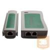 egyéb Hálózati UTP és telefonos kábel teszter, RJ-45, RJ-11 kábelekhez