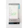 egyéb MyMax Apple iPhone 5G fehér oldara nyitható bőr tok