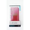 egyéb MyMax Apple iPhone 5G piros oldara nyitható bőr tok
