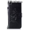 egyéb Notesz / mappa tok - ARC MINTÁS - oldalra nyíló, rejtett mágneses záródás, belsõ zseb, asztali tartó funkció, szilikon belsõ - SAMSUNG SM-G960 Galaxy S9