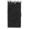 egyéb Notesz tok / flip tok - FEKETE - GRAFFITI MINTÁS - asztali tartó funkciós, oldalra nyíló, rejtett mágneses záródás, bankkártya tartó zsebekkel, szilikon belső - HUAWEI Y6 (2018) / HUAWEI Honor 7A
