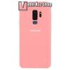 egyéb Silky szilikon védõ tok / hátlap - RÓZSASZÍN - SAMSUNG SM-G965 Galaxy S9+