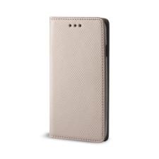 egyéb Smart magnet Huawei P Smart (2020) oldalra nyíló mágneses könyv tok szilikon belsővel arany tok és táska