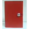 egyéb Swarovski kristályos bőr notesz, piros
