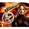 Éhezők viadala (Hunger Games) nyaklánc, ezüst színben