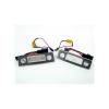 Einparts Skoda rendszámtábla LED készlet