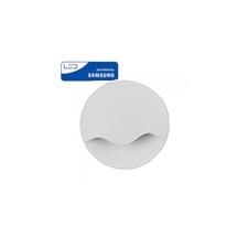 Éjszakai irányfény LED lámpa (0.45W) négyzet-hullám, meleg fehér, Samsung Chip világítás