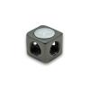 EK Water Blocks EK-AF X-Splitter 4F G1/4 - Black Nickel