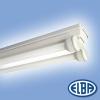 Elba Por és páramentes lámpa FIPA 04 SURF 2x18W HF-S elektronikus előtéttel IP65 Elba
