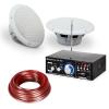 Electronic-Star 4 részes erősítő és hangfal készlet 6,5