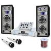 Electronic-Star DJ PA Polar Bear szett 2200W, keveropult erosíto, hangfalak