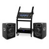 Electronic-Star DJ PA Set Rack Star Series Mercury Beat Bluetooth 250 Personen