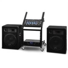 Electronic-Star DJ PA Set Rack Star Series Venus Bounce 300 Personen hangtechnikai eszköz