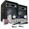 """Electronic-Star DJ PA szett: """"Marrakesh Lounge Pro"""" hangfalak és erősítő"""