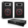 Electronic-Star Soundbash szett, erősítő, 2 x hangfal
